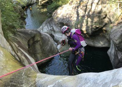 descensos de barrancos pirineos de lleida barranquismo