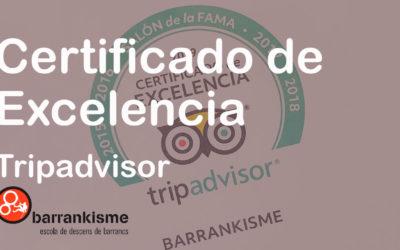 Tripadvisor 2019 Barrankisme.com