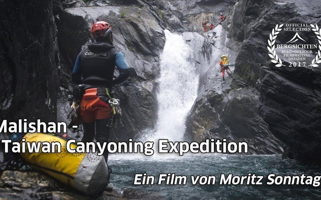 Video canyoning – Malishan – Expedición a los cañones en Taiwán