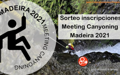 Sorteo 2 invitaciones Meeting Canyoning Madeira